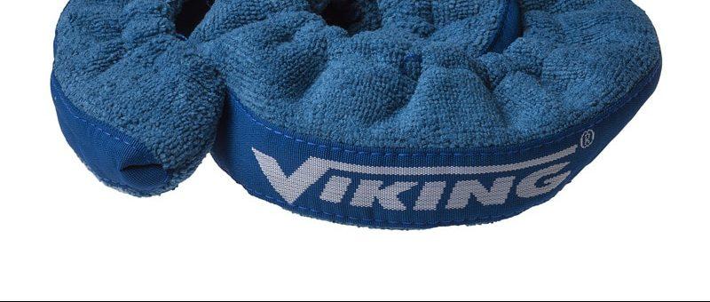 Viking kalosjer i stoff Blå