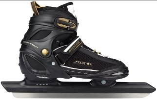 Justerbar lengdeløpsskøyte - Hard sko  Panther tilbud