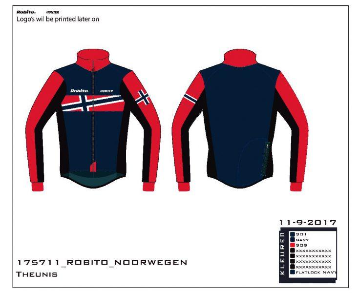 Thermo jakke i Norsk Design