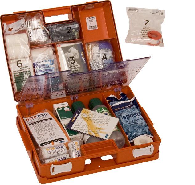 Noraid førstehjelps koffert stor